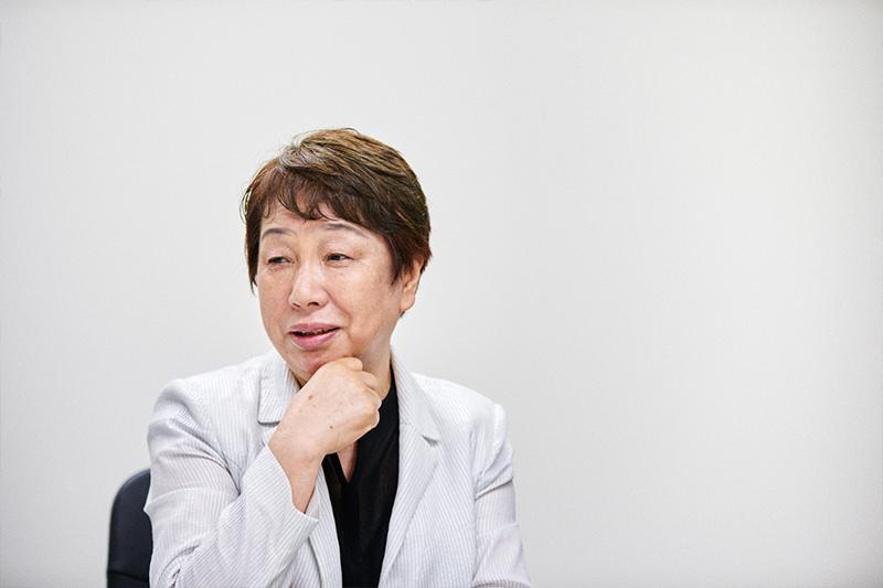 女性が活躍しやすい職場について語る橋本さん