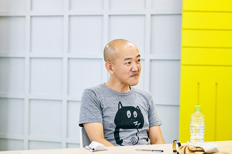 ブックオフについて話す島田さん
