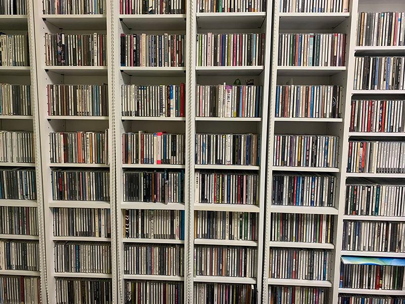ハタさんのCD棚