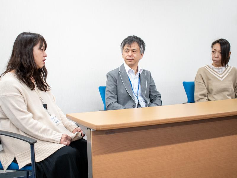 これからの10年について語る大西さん、深水さん、塚越さん
