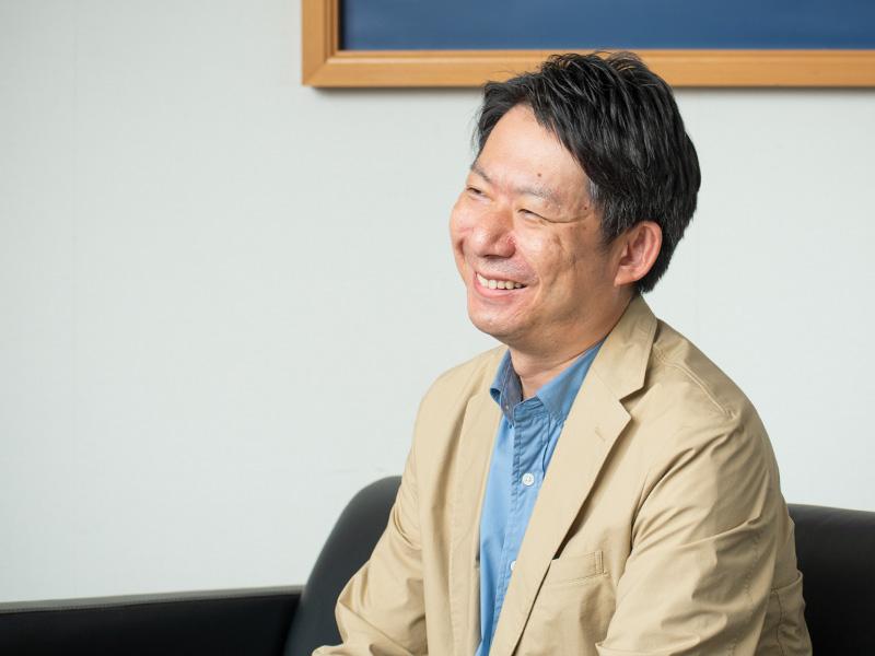 CMの影響について笑顔で話してくれた千田竜也さん