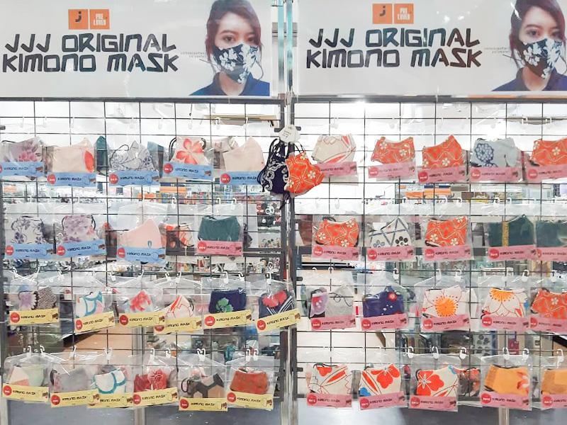 Jalan Jalan Japanでマレーシアの人に好評を博している着物マスク