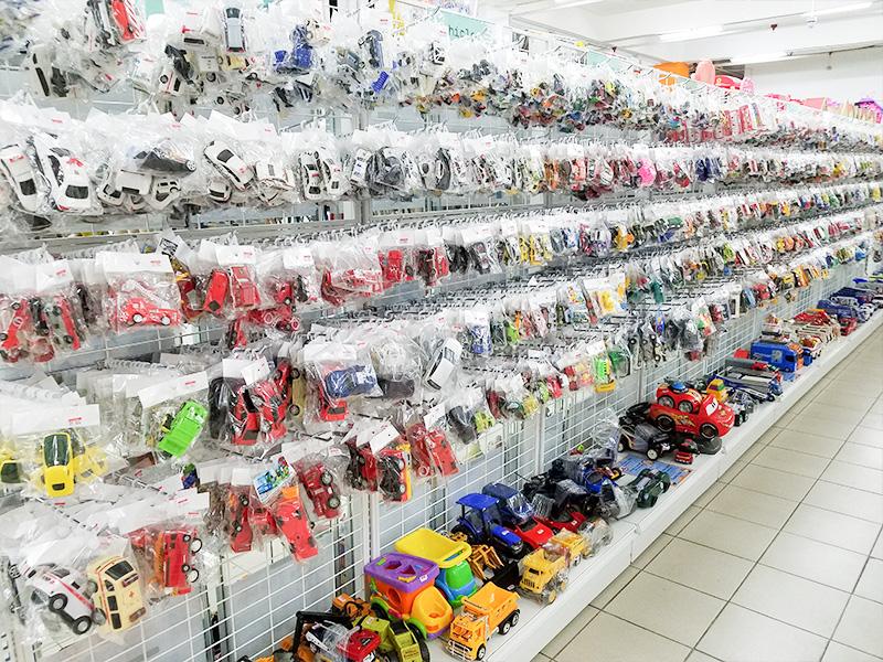 Jalan Jalan Japanのおもちゃ売り場の様子。