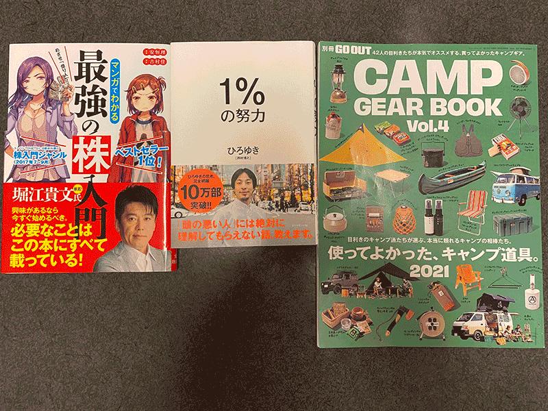 田村さんの購入品